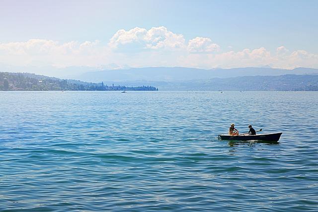 Zurich, Switzerland, Lake Zurich, Lake, Water, Summer