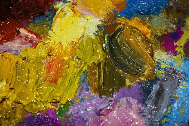 Palette, Color, Art, Acrylic, Picture, Watercolor