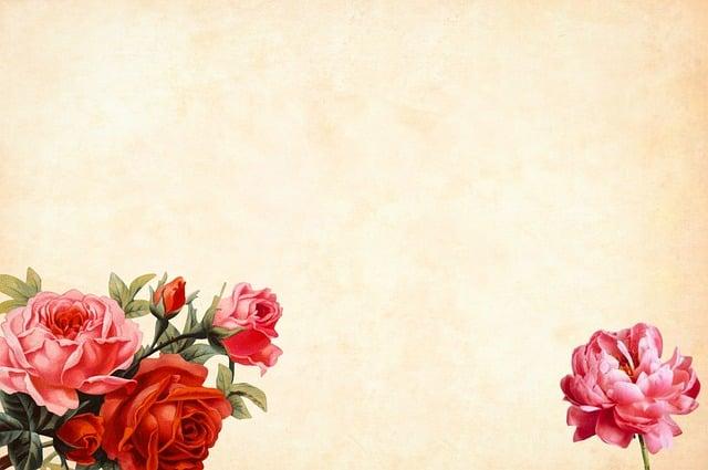 Free Photo Floral Decorative Border Roses Frame Max Pixel