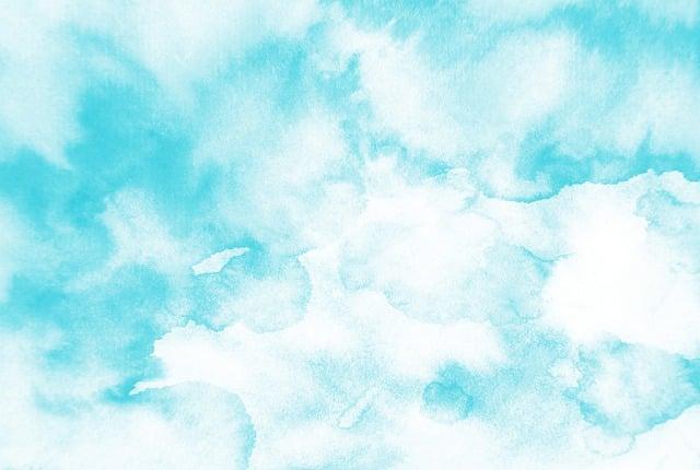 Blue, Watercolor, Background, Watercolors, Watercolour