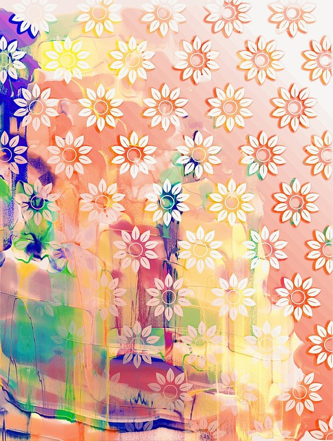 Pattern, Abstract, Watercolour, Design, Artistic