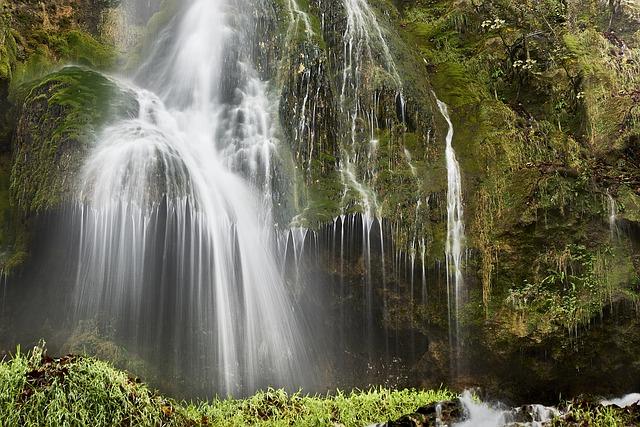 Waterfall, Rain, Nature, Mystical, Water, Foaming