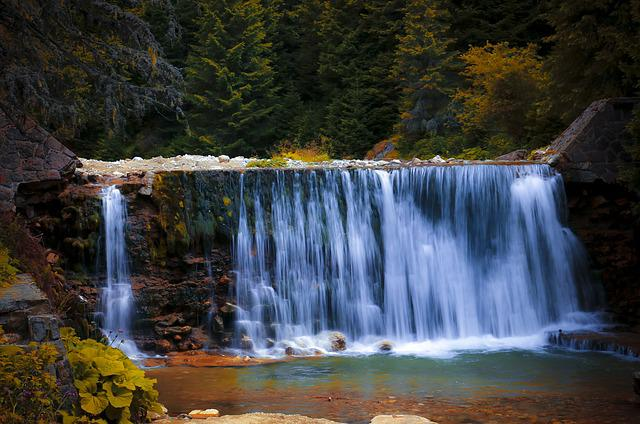 Water, Waterfall, Nature, Landscape, Travel, Forest