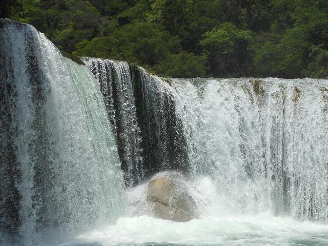 Water, Waterfall, Landscape, Nature, River, Rocks