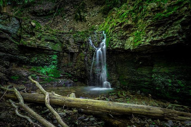 Waterfall, Water, Long Exposure, Waterfalls, Landscape