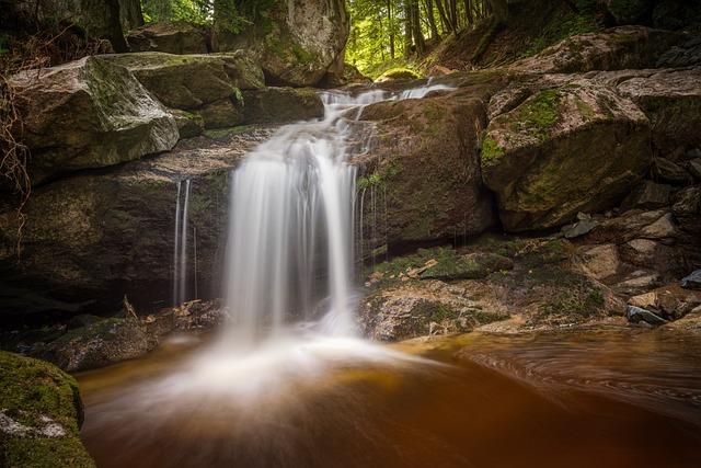 Ilse Falls, Waterfall, Long Exposure, Mountain Stream