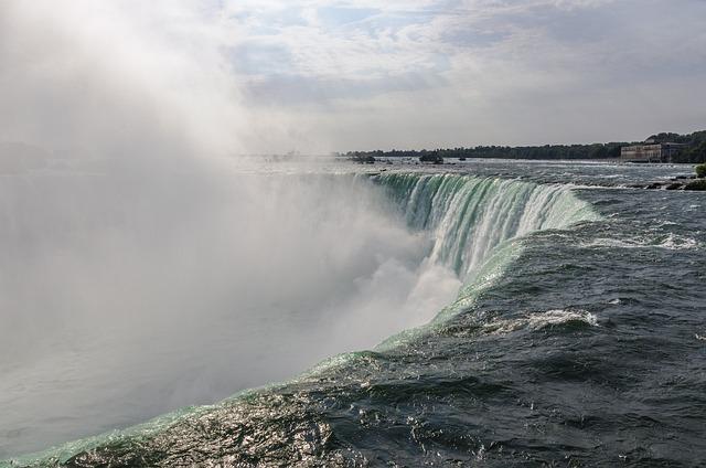Mist, Niagara Falls, River, Water, Waterfall