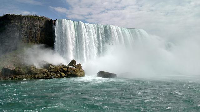 Niagara Falls, Waterfall, Vacation, Water, Nature