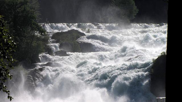 Rhine Falls, Schaffhausen, Waterfall