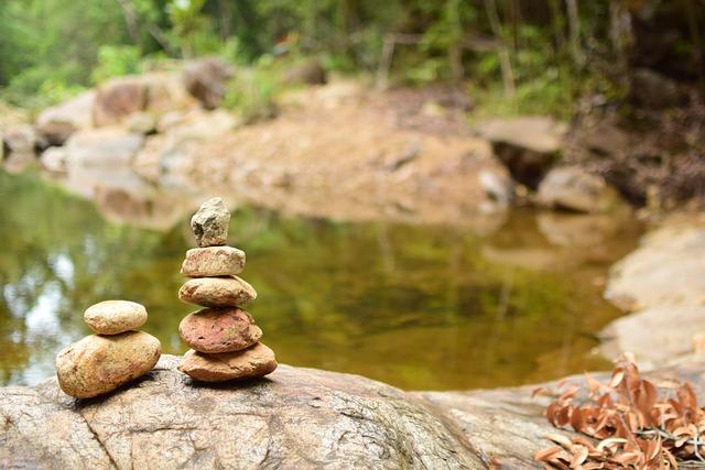 Stones, Overlap, Waterfall, River, Brook, Pa