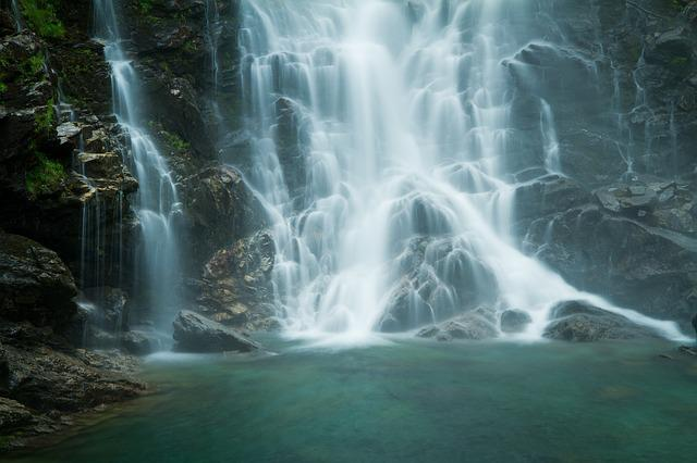 Verzasca, Waterfall, Water And Stone, Switzerland