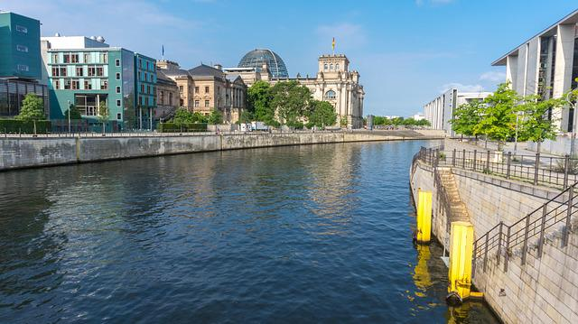 Waters, Architecture, City, Travel, River, Berlin