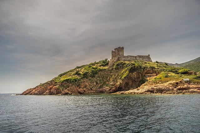 Waters, Sea, Coast, Landscape, Travel, Corsica