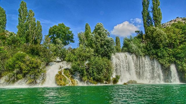 Waters, Nature, Summer, Tree, Park, Croatia