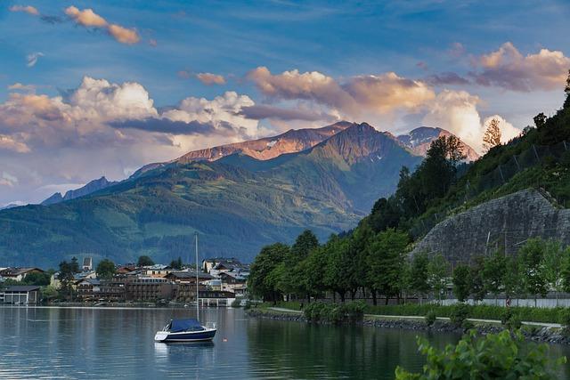 Mountain, Nature, Lake, Waters, Travel, Summer, Tourism