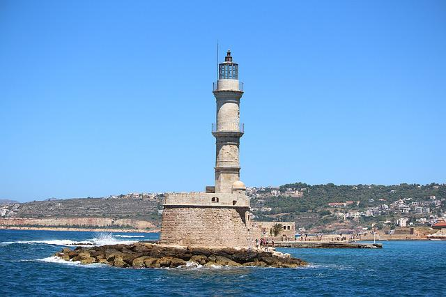 Lighthouse, Waters, Sea, Travel, Architecture