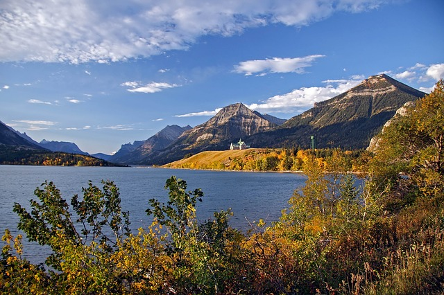 Waters, Nature, Lake, Mountain, Landscape, Sky, Travel