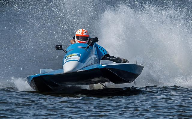 Racing Boat, Motor Boat Race, Water Sports, Waters