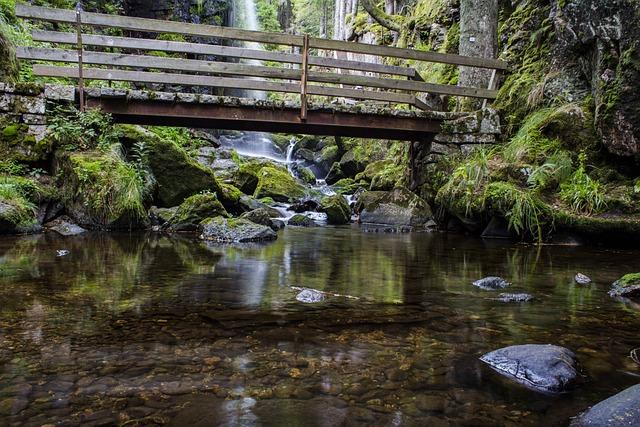 Waters, Nature, River, Waterfall, Wet, Moss, Stone