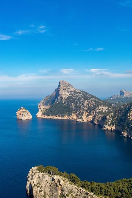 Mallorca, Cap Formentor, Sea, Rock, Waters, Travel