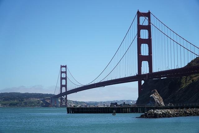 Bridge, Waters, Suspension Bridge, Transport, Travel