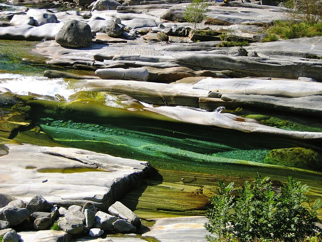 Verzasca, River, Stones, Waters