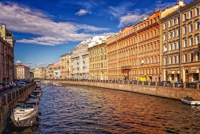 St Petersburg, Historic Center, Channel, Waterway