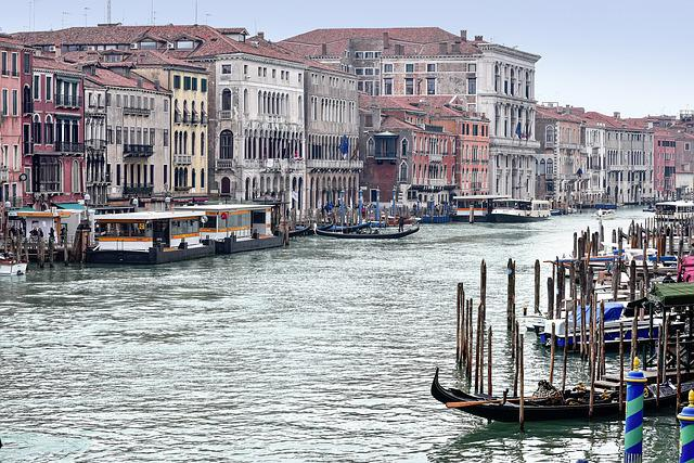 Venice, Canale Grande, Italy, Venezia, Water, Waterway