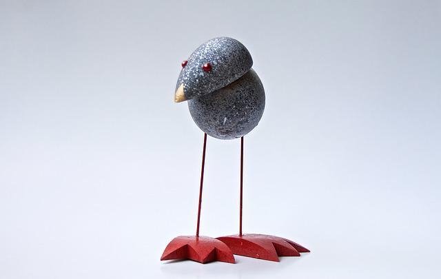 Lonely, Watt Bird, Craft, Bird, Wood