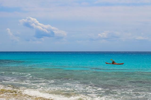 Canoe, Sport, Activity, Water, Sea, Surf, Wave, Wind