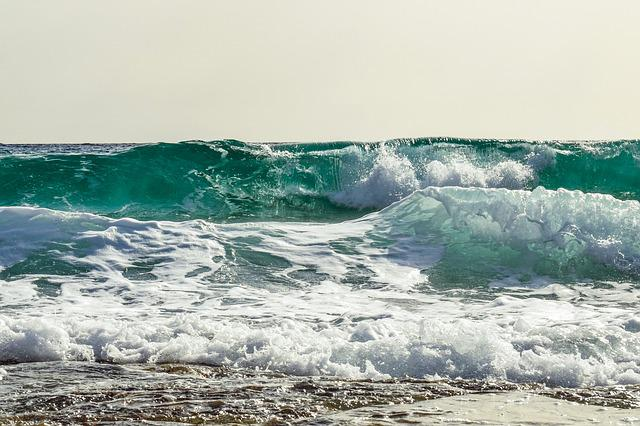 Wave, Smashing, Sea, Coast, Nature, Beach, Splash