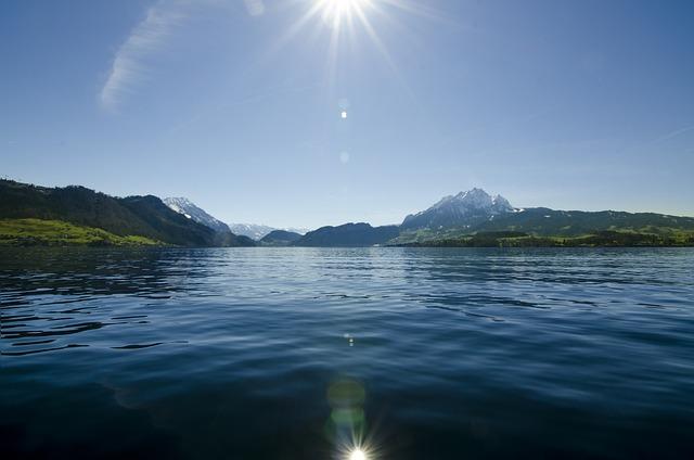 Ocean, Sea, Water, Nature, Wave, Light, Sky, Sun, Lake