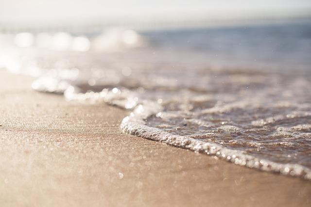 Sand, Beach, Wave, Foam