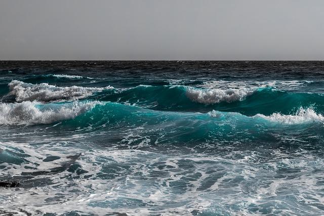 Sea, Wave, Surf, Water, Ocean, Seascape, Nature, Spray