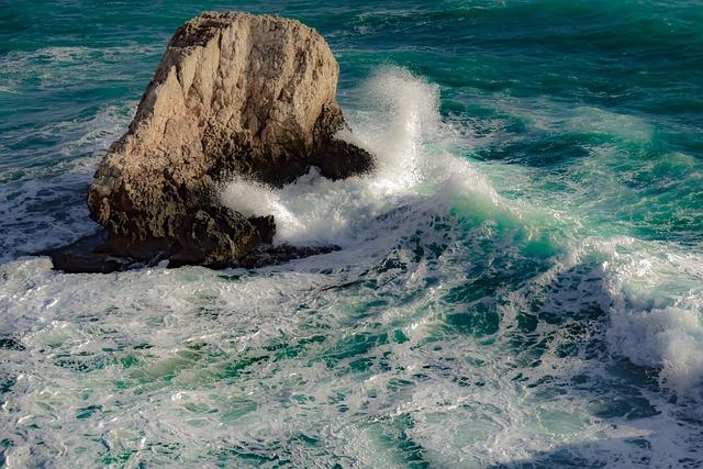 Rock, Sea, Wave, Water, Surf, Ocean, Motion, Wind