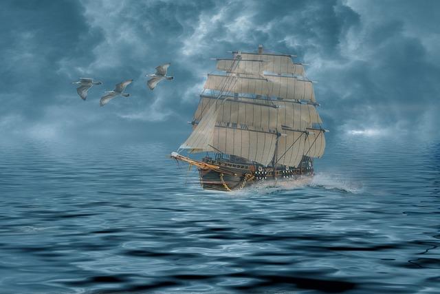 Mati, Ocean, The Ship, Sea, Ship Water, Wave, Ship