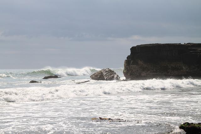 Water, Sea, Wave, Coast, Ocean, Beach, Nature, No One