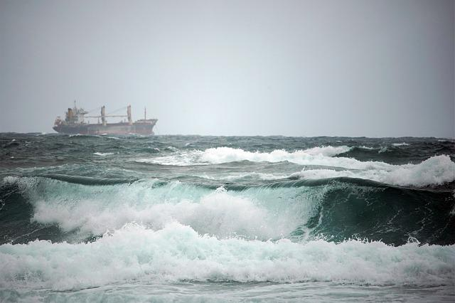 Sea, Wave, Nature, Ship, Water, Travel, Waves, Times