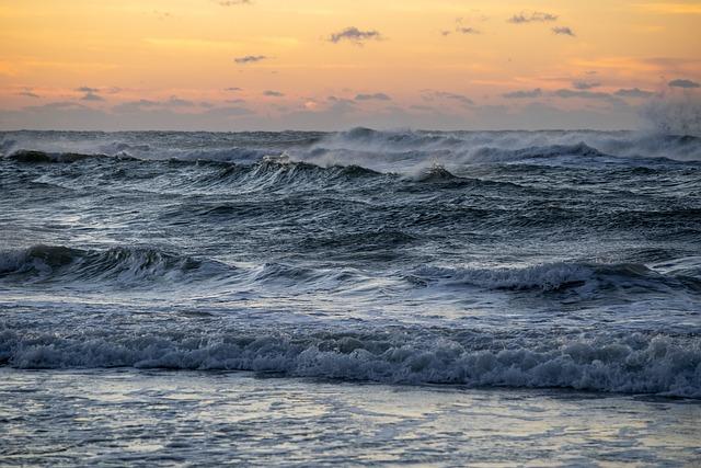 Beach, Waves, Surf, Ocean, Water, Sun, Sunrise