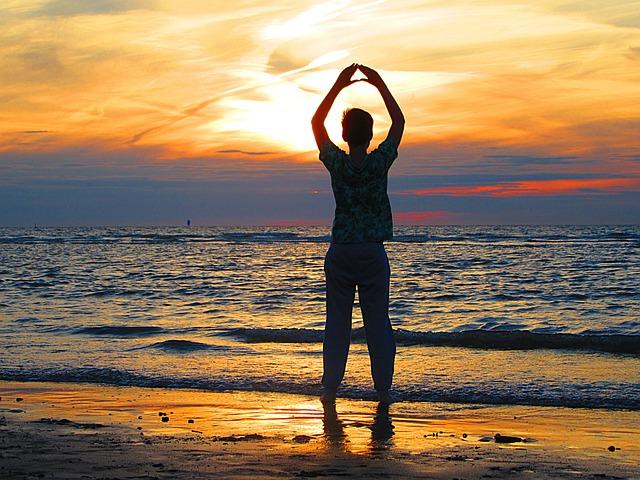 Boy, Sun, Sea, Beach, Waves, Sunset, Child, Watch