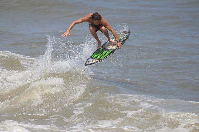 Skimboard, Skimboarding, Beach, Summer, Ocean, Waves