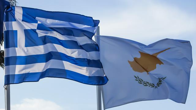 Greece, Cyprus, Ethnicity, Nation, Flags, Waving