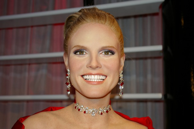 Heidi Klum, Model, Wax Figure, Berlin, Madame Tussauds