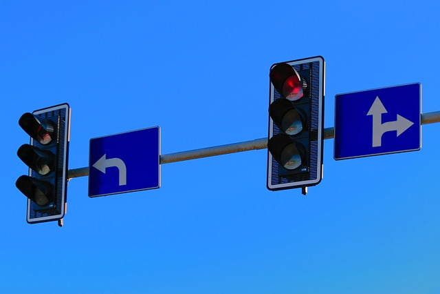 High Beam, Traffic Control, Red Light, Highway, Way