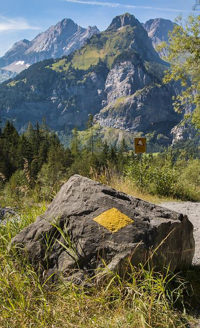 Trail, Trail Signs, Directory, Mark, Waymarks