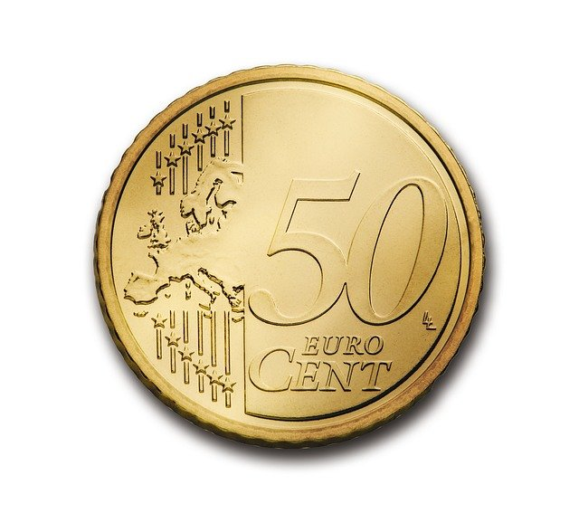Cent, 50, Euro, Coin, Currency, Europe, Money, Wealth