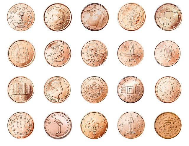 Cents, Coins, Currency, Cash, Money, Wealth, Finance