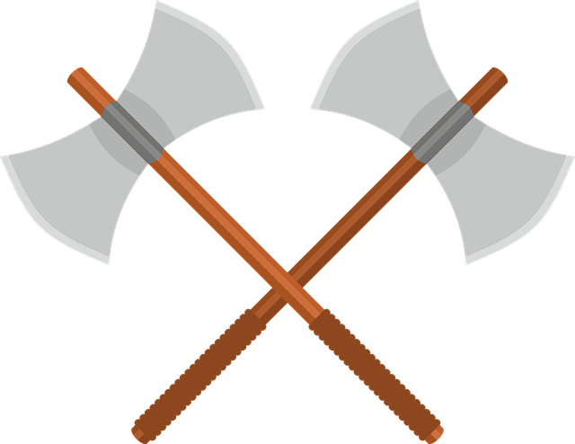 Axe, Battle Axe, Ax, Weapon, Fantasy, Middle Ages