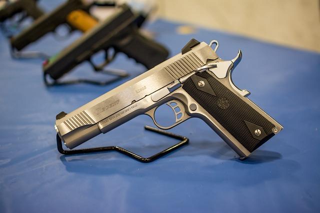 Pistol, Gun, Handgun, Weapon, Firearm, Protection