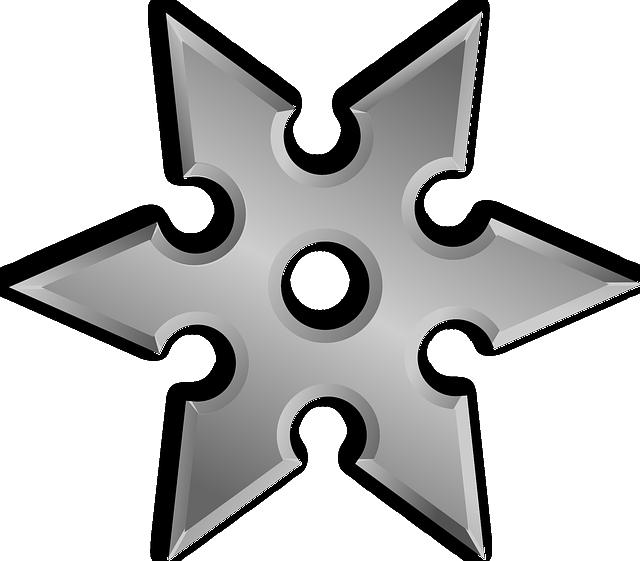Throwing Star, Weapon, Ninja Star, Japanese Weapon